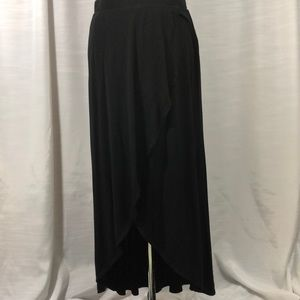 Soft and flowy faux wrap skirt by A New Day sz L
